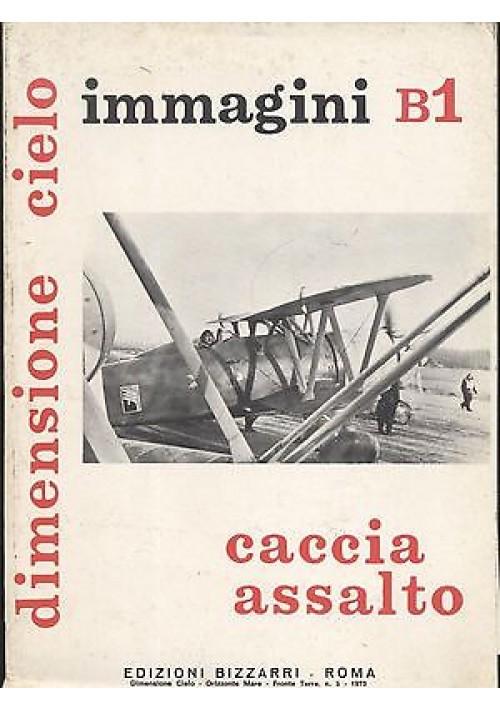 Caccia assalto IMMAGINI B1  dimensione cielo - edizioni Bizzarri 1973