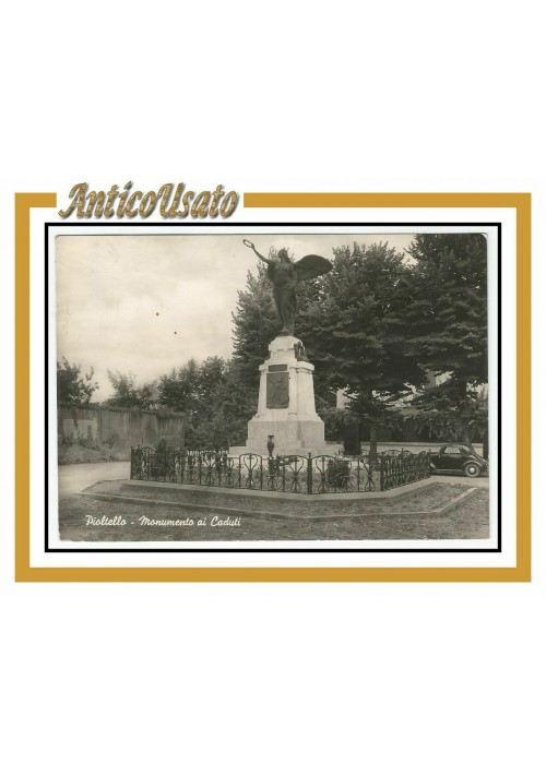 Cartolina Pioltello Monumento ai caduti  Viaggiata lucida postcard carte postale