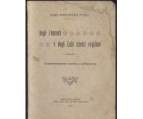 DEGLI ELEMENTI E DEGLI ECHI STORICI VIRGILIANI di F. Tullo 1917 Palo del Colle