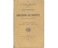 DELLA RAPPRESENTANZA NELLA CONCLUSIONE DEI CONTRATTI Luigi Tartufari 1892 UTET
