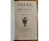 DELLE ISTORIE FIORENTINE di Niccolò Machiavelli 1796 Filadelfia volume 1 OPERE