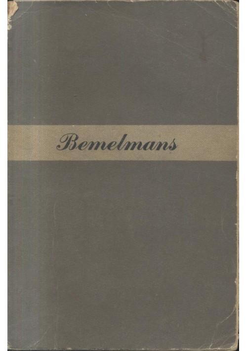 E ORA ANDIAMO A LETTO di Ludwig Bemelmans - Longanesi editore 1948.