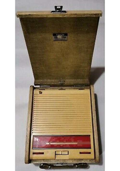 ECKO TRANSISTOR PORTABLE BPT333  Radio portatile del 1958 vintage usata
