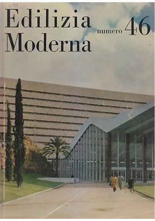 EDILIZIA MODERNA  N.46 giugno 1951 Edizioni Tecniche Moderne - design vintage