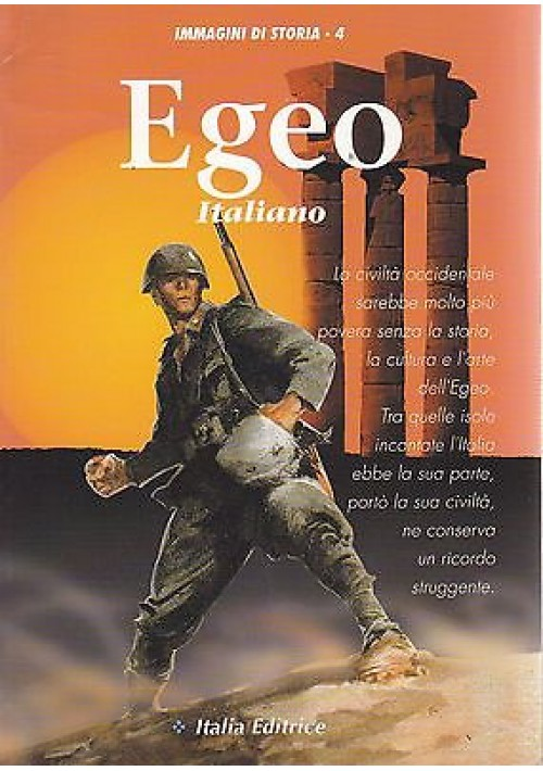 EGEO ITALIANO  Italia Editrice 1994  immagini di storia n.4