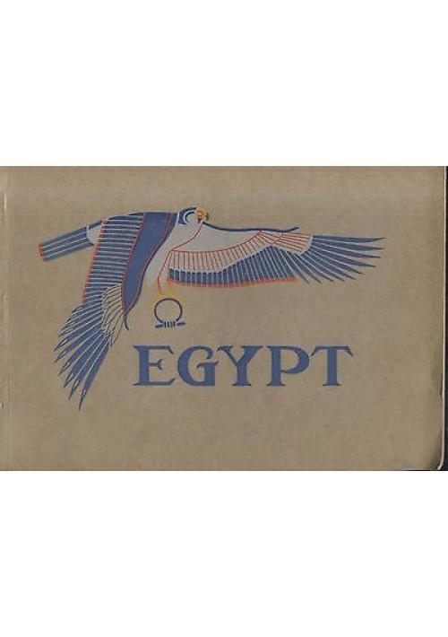 EGYPT - government press Cairo 1932 bellissimo libro ricco di immagini