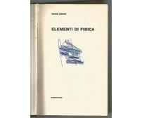 ELEMENTI DI FISICA di Mario Ageno 1968 Paolo Boringhieri editore