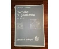 ELEMENTI DI GEOMETRIA Parte II di F. Enriques U. Amaldi - Zanichelli 1969