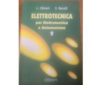 ELETTROTECNICA vol.2 macchine convertitori misure Olivieri e Ravelli 1996 Cedam