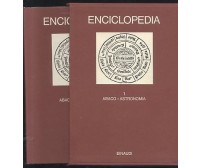 ENCICLOPEDIA  EINAUDI volume 1 abaco astronomia 1977 COME NUOVO