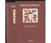 ENCICLOPEDIA  EINAUDI volume 7 imitazione istituzioni 1979 COME NUOVO