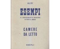 ESEMPI DI ARREDAMENTO MODERNO camere da letto - Roberto Aloi 1955 Hoepli *