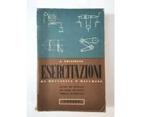 ESERCITAZIONI DI MECCANICA E MACCHINE di Aldo Locatelli - Lattes 1952 esercizi