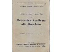 ESERCITAZIONI GRAFICHE DI MECCANICA APPLICATA ALLE MACCHINE Cardellino Conese *