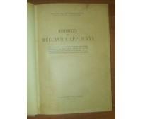 ESERCIZI DI MECCANICA APPLICATA Vittorugo Foschi 1946 edizioni italiane *