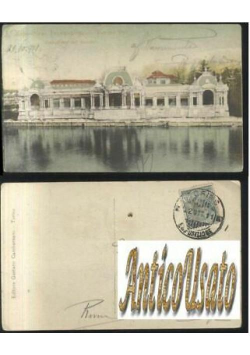 ESPOSIZIONE INTERNAZIONALE TORINO pad. Brasile viaggiata 22/11/1911 ORIGINALE