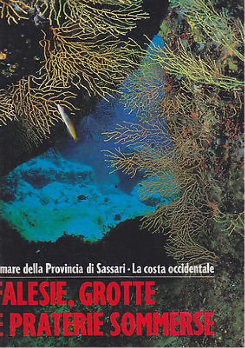 FALESIE GROTTE E PRATERIE SOMMERSE il mare della provincia di Sassari 1991 Pizzi