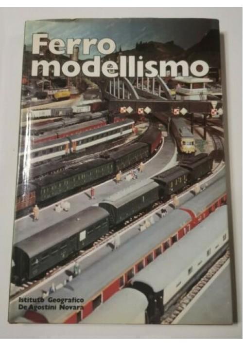 FERROMODELLISMO di Clive Lamming 1980  De Agostini libro treni ferrovie trenini