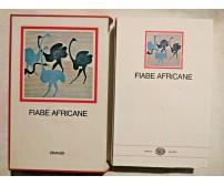 FIABE AFRICANE 1955 Einaudi i Millenni cofanetto con prefazione di Italo Calvino