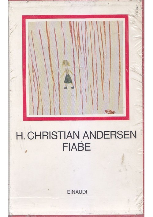 FIABE di Hans Christian Andersen 1977 Einaudi i millenni illustrato a colori *