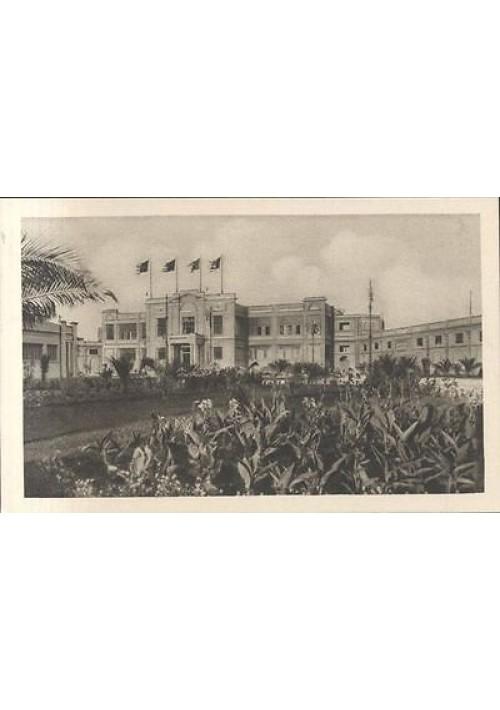 FIERA DEL LEVANTE CARTOLINA PALAZZO DELLA MODA FORSE 1930 NON VIAGGIATA