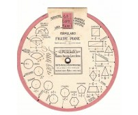 FILA formulario figure piane e solidi - regolo calcolatore anni '40 o '50