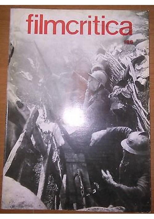 FILMCRITICA N 186 febbraio 1968 Orsoni Boatto Bacigalupo Turroni Robbe Grillet
