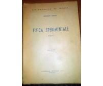 FISICA SPERIMENTALE PARTE II Edoardo Amaldi 1954 Marves università di Roma *