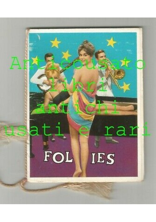 FOLIES calendarietto da barbiere 1965 trocadero copacabana Mocambo Alhambra