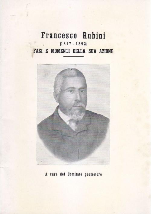 FRANCESCO RUBINI 1817 1892 a cura del Comitato Promotore 1966 Ruvo di Puglia