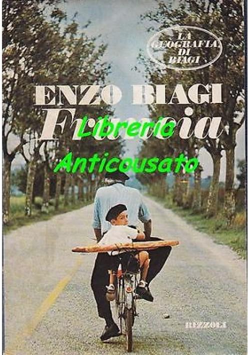 FRANCIA Di Enzo Biagi Rizzoli editore PRIMA EDIZIONE 1978 disegni di Mulazzani