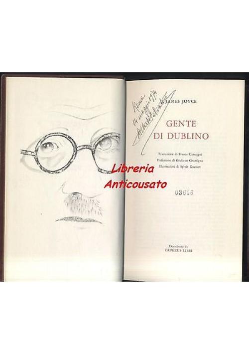 GENTE DI DUBLINO di James Joice - Orpheus 1972 - illustrato da Sylvie Dausset