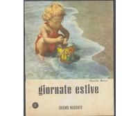 GIORNATE ESTIVE II libro scolastico per le vacanze Rosella Banzi 1956 Orizzonte