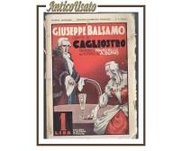 GIUSEPPE BALSAMO conte di Cagliostro di Dumas 1930 Nerbini romanzo per ragazzi