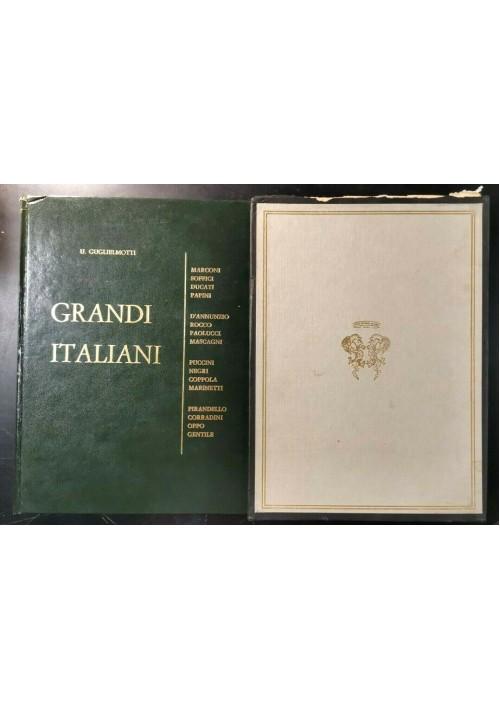 GRANDI ITALIANI vol 1 di Guglielmotti 1970 Centro editoriale nazionale CEN libro