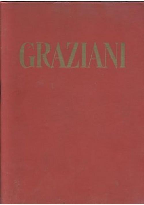 GRAZIANI Edizione Rivista Romana collana di studi storicI 1956 Pisenti Cannevari