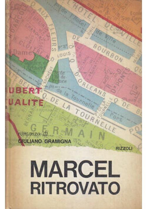 Giuliano Gramigna MARCEL RITROVATO Rizzoli editore II edizione 1969
