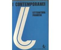 I CONTEMPORANEI   LETTERATURA FRANCESE 2 VOLUMI 1976  77 LUCARINI EDITORE
