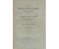 I FATTI DELLA NUOVA ROMA CONTRO ALLA SALMA DI PIO IX 2 volumi 1885 Pustet