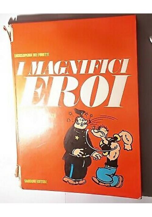 I MAGNIFICI EROI Topolino uomo mascherato Mandrake Braccio di ferro 1970 Sansoni