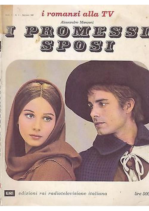 I PROMESSI SPOSI di Alessandro Manzoni 1967  ERI Edizione i romanzi alla tv