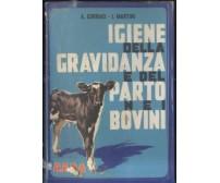 IGIENE DELLA GRAVIDANZA E DEL PARTO NEI BOVINI Corrias Martini 1966 REDA