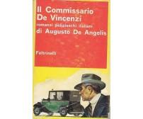 IL COMMISSARIO DE VINCENZI di Augusto de Angelis - Feltrinelli 1963 I edizione *