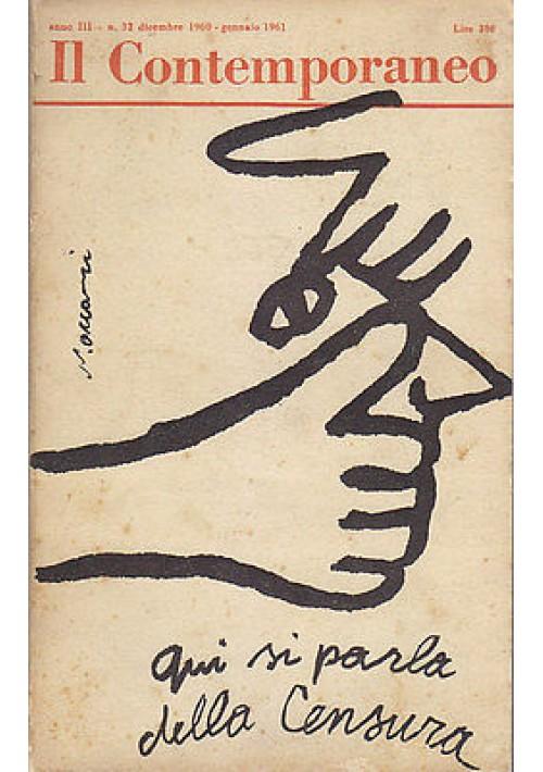 IL CONTEMPORANEO - ANNO III N.32   DICEMBRE 1960 GENNAIO 1961
