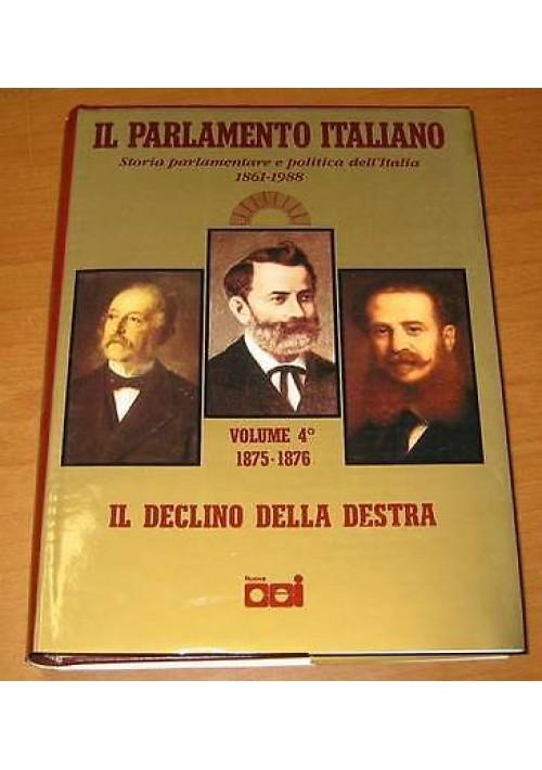 Il declino della destra da minghetti a depretis il for Parlamento italiano storia