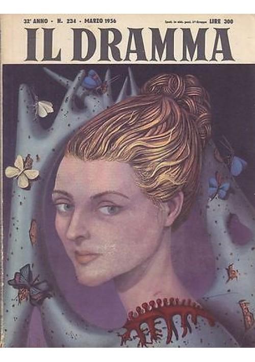IL DRAMMA anno 32 n.234 marzo 1956 BEST SELLER tre atti di Ezio D'Errico