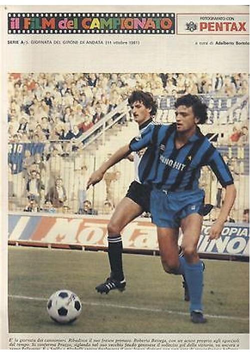 IL FILM DEL CAMPIONATO 11 ottobre 1981 5° giornata girone d'andata ALTOBELLI