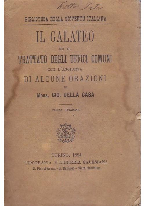 Il galateo ed il trattato degli uffici comuni giovanni for Planimetrie della casa degli artigiani