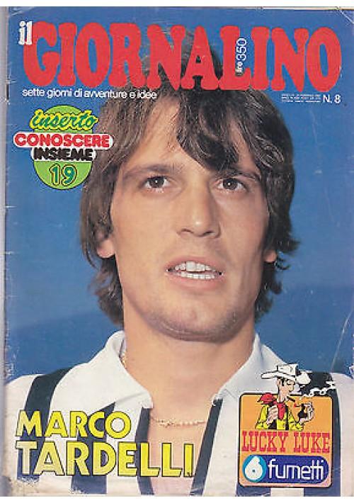 IL GIORNALINO 24 febbraio 1980 MARCO TARDELLI con poster SENZA inserto