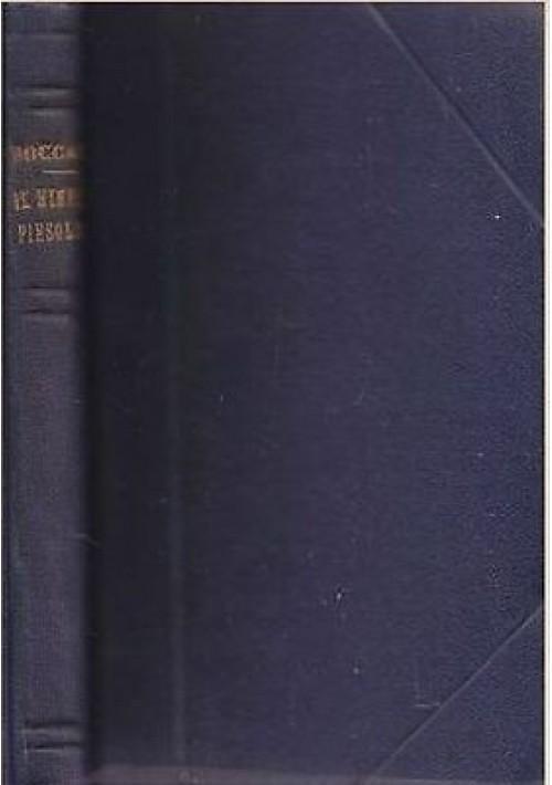 IL NINFALE FIESOLANO Giovanni Boccaccio UTET editore anni '20